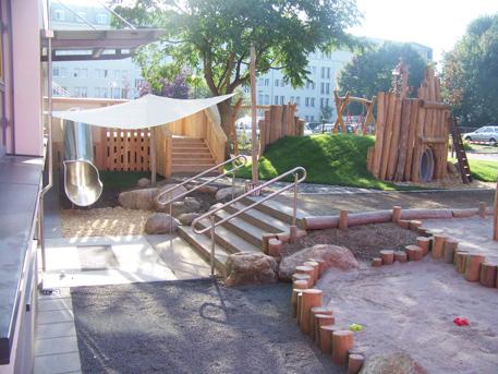 Der Neu Gestaltete Krippengarten